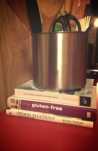 New cookbooks! Go gluten free yumminess!